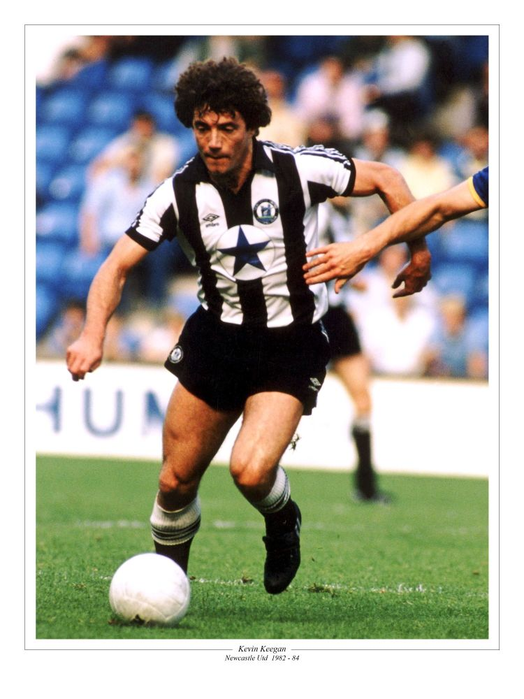 Kevin Keegan Newcastle United Football 10x8 Signed Photograph  : Sportsmani