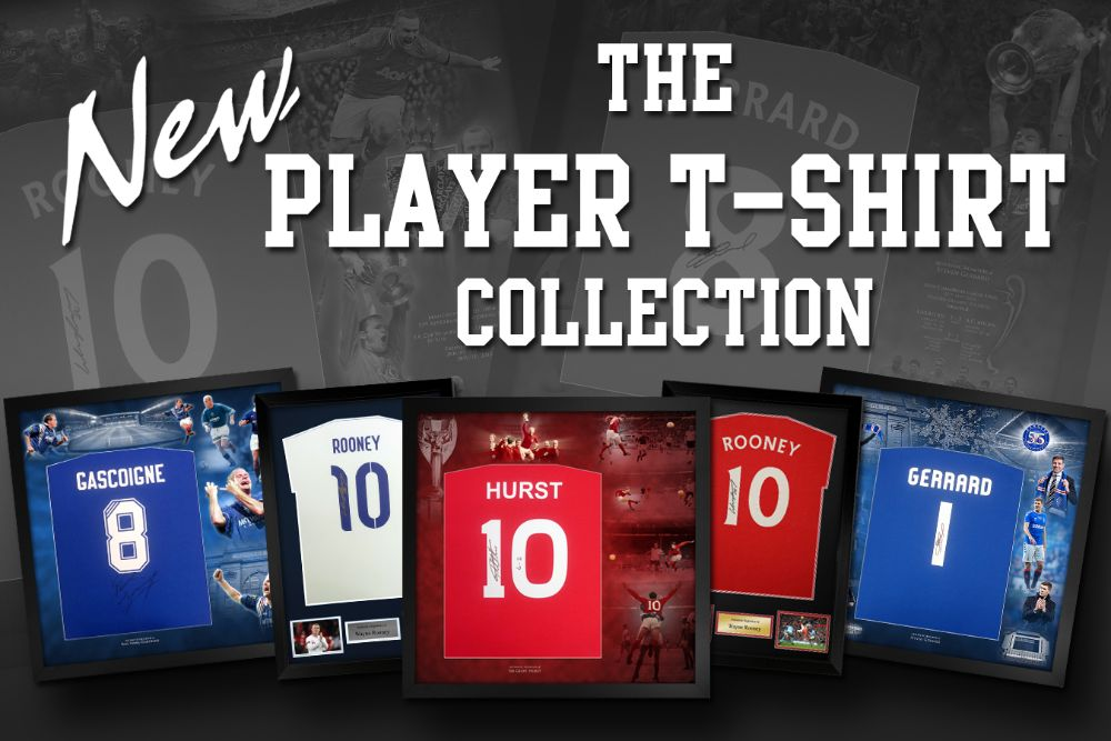 Signed Player T-shirts