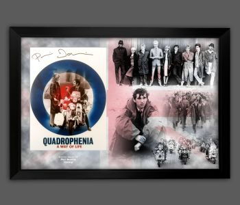 Phil Daniels Signed 12x16 Quadrophenia  Photograph Framed In A Picture Mount Display : B