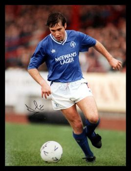 Ally Mccoist  10x8 Signed  Photograph : Private Signing Autograph  Pre Order.