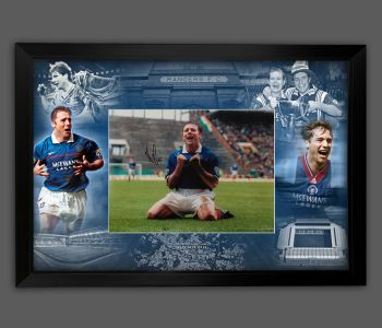Ally McCoist Hand Signed Rangers Fc  12x16 Football Photograph In A Framed Picture Mount Display