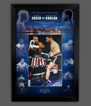 Tony Bellew Hand Signed Creed 12x16 Photograph In A Framed Picture Mount Display