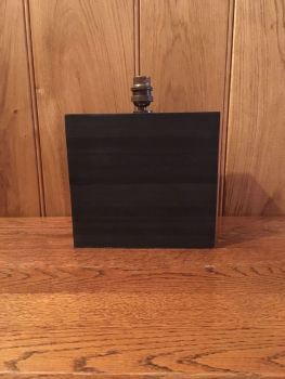 Laminated Dark Welsh Slate Lamp, Medium