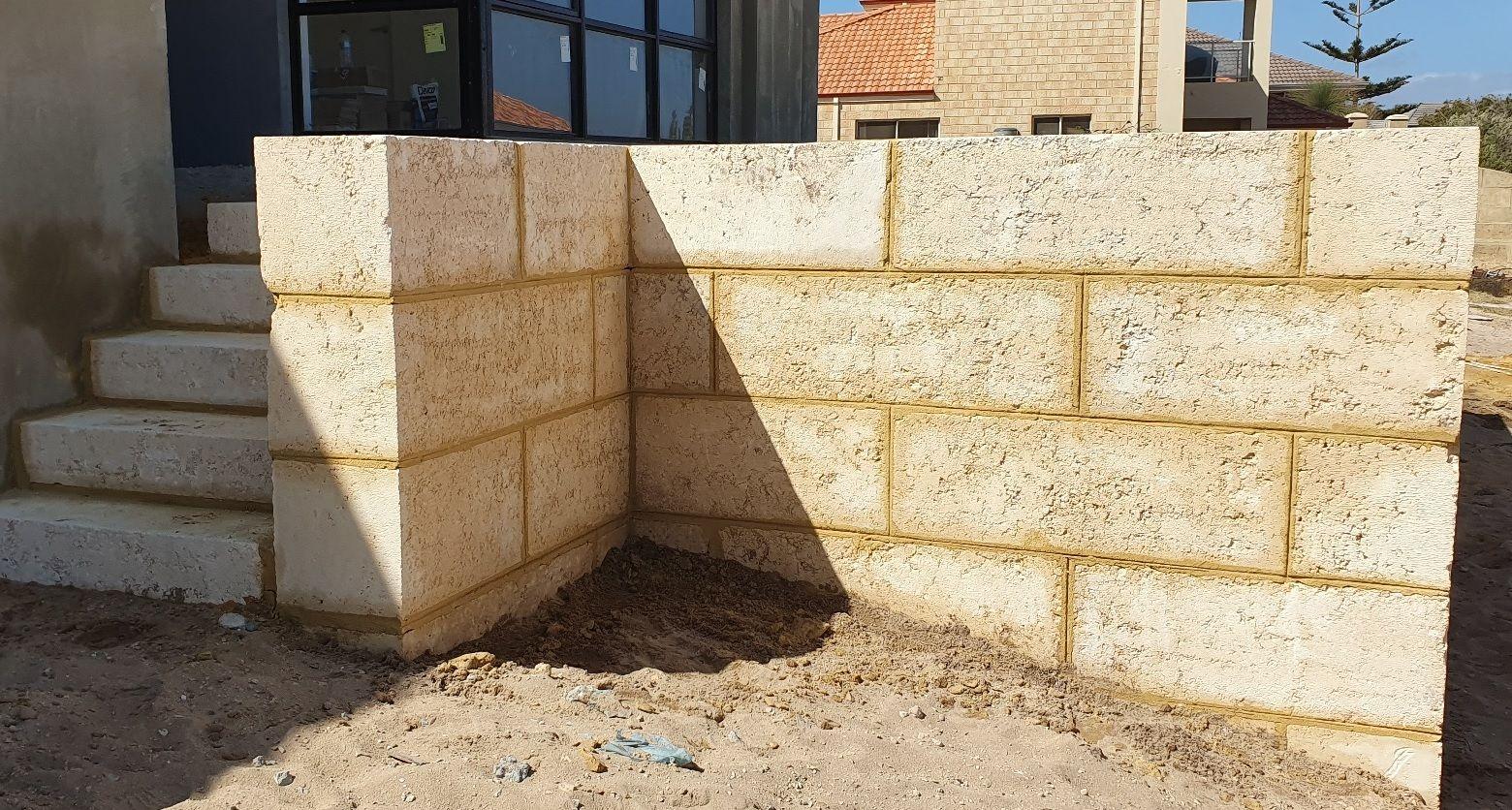 Limestone Retaining Walls Mandurah