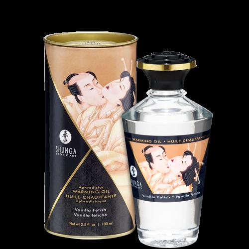 Shunga Warming Aphro Oil - Vanilla Fetish