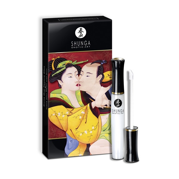 Shunga Oral Pleasure Lipgloss - Strawberry Wine