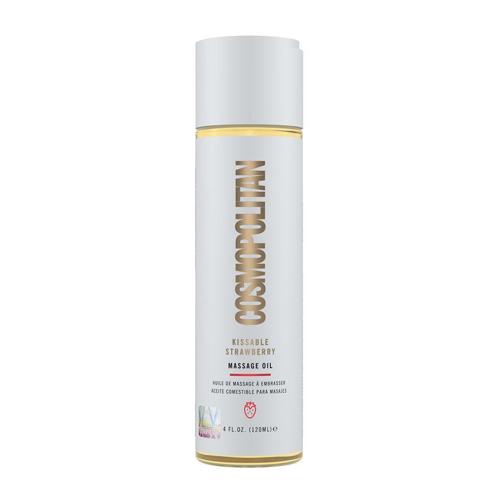 Cosmopolitan Kissable Strawberry Massage Oil 4 floz