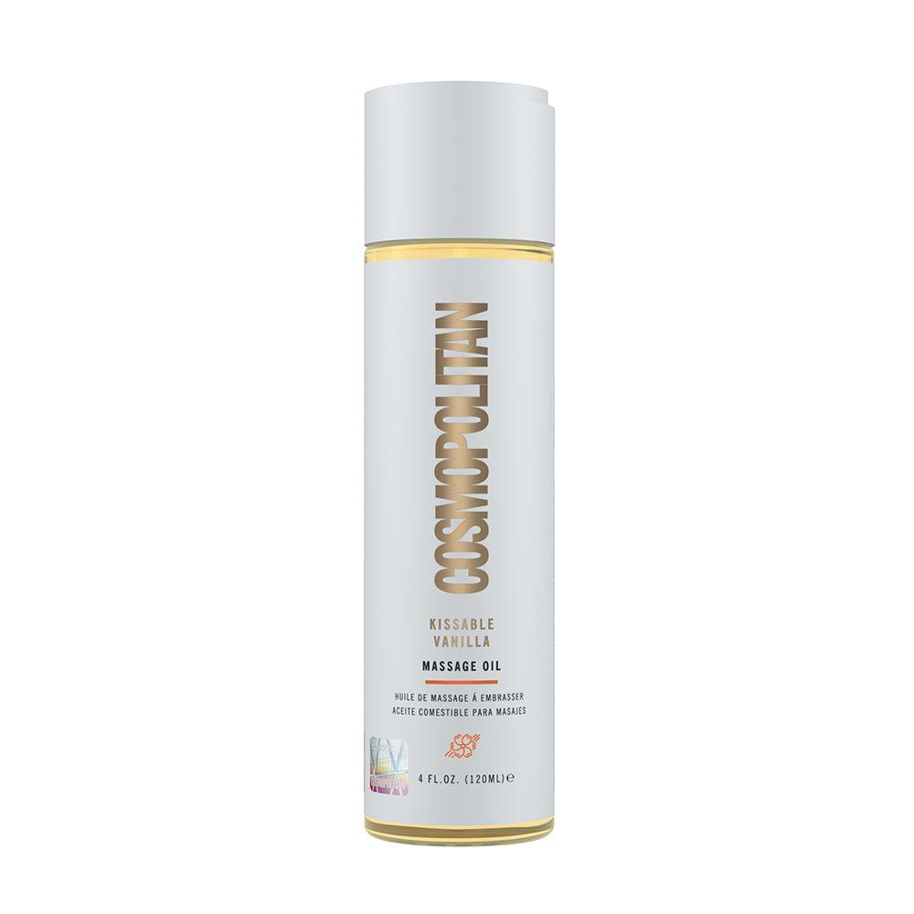 Cosmopolitan Kissable Vanilla Massage Oil 4 floz