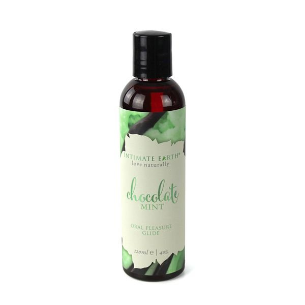 Intimate Earth Flavoured Lube - Chocolate Mint 120ml