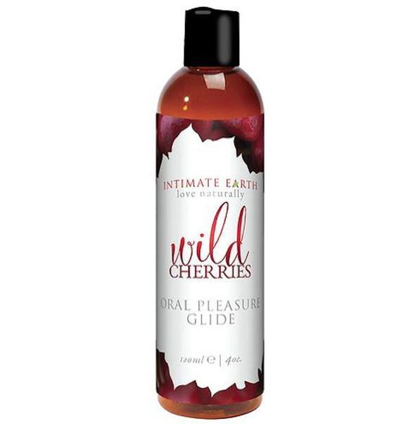 Intimate Earth Flavoured Lube - Wild Cherries 120ml