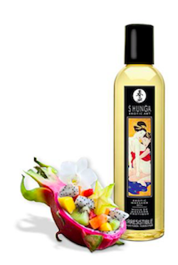 Shunga Massage Oil Asian Fusion (Irresistible)