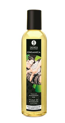 Shunga Massage Oil Organica (Natural)