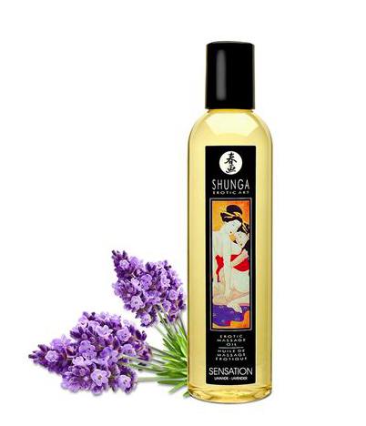 Shunga Massage Oil Sensation (Lavender)