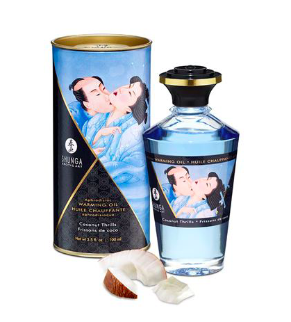 Shunga Warming Aphro Oil - Coconut Thrills