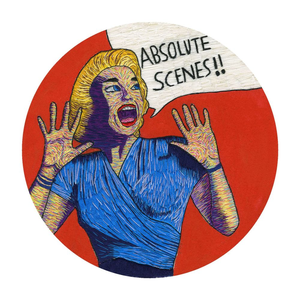Absolute Scenes Fine Art Greetings Card, Printed on 350gsm Silk White Card, FSC Certified. 6in x 6in