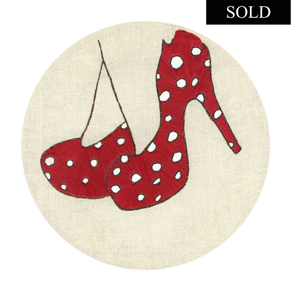 Red Shoes Original Sold