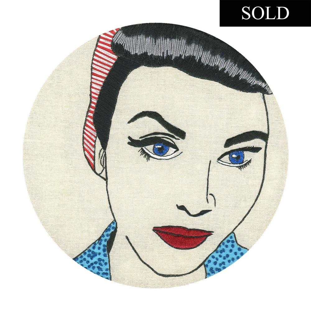 Rockability Original Embroidery SOLD
