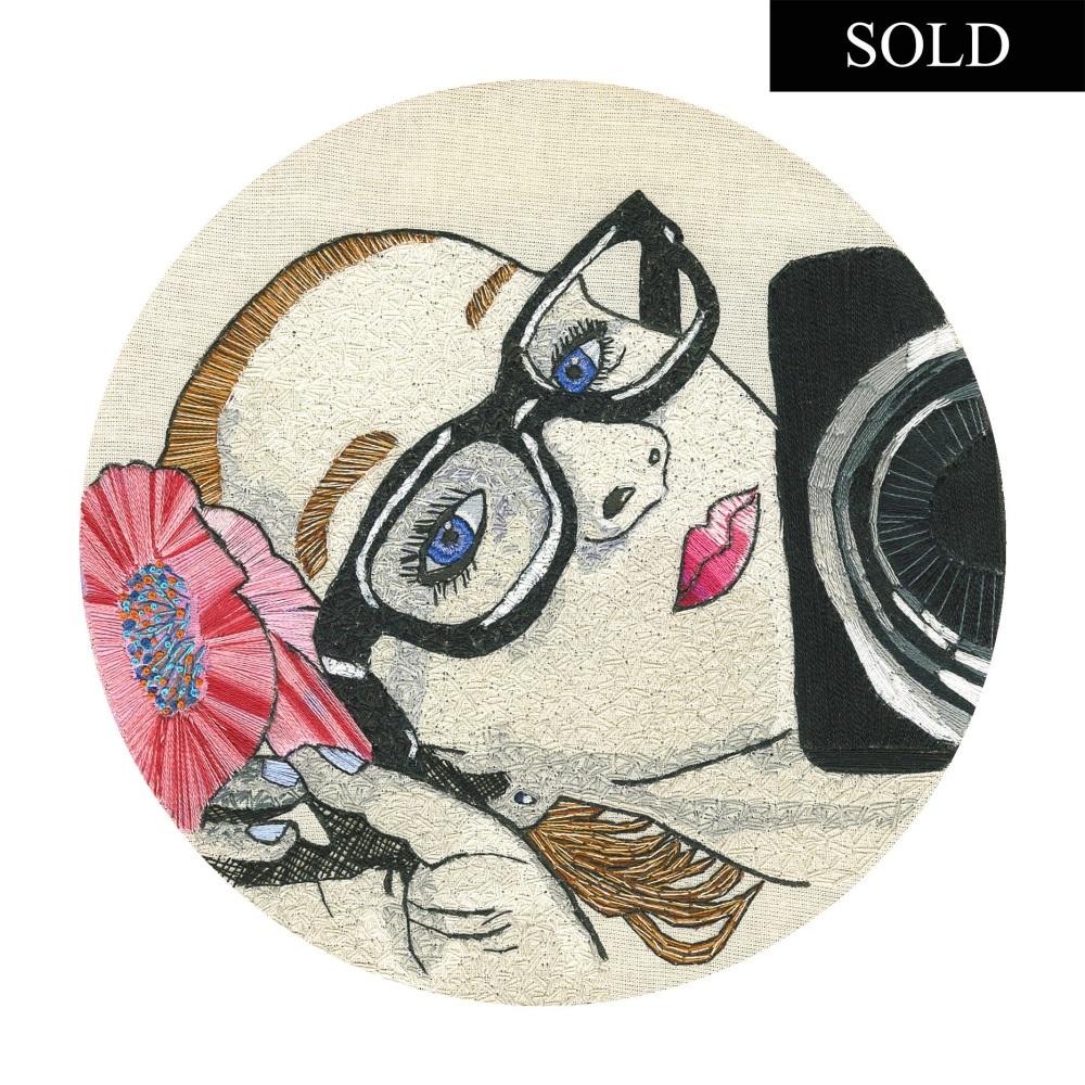 Selfie Anyone? Original Hand Embroidery