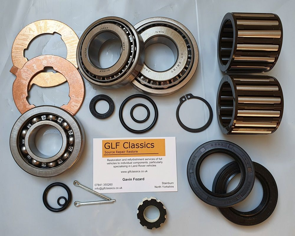 LT76 Transfer Box Full Rebuild Kit 1965<