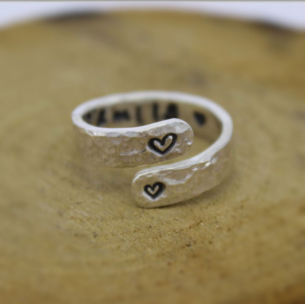 Message in a Wrap Ring