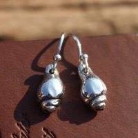 Whitstable Shell Earrings (Design 3)