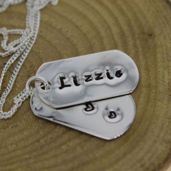 Dog Tag Necklace (small)