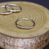 Coil Ring - yellow gold