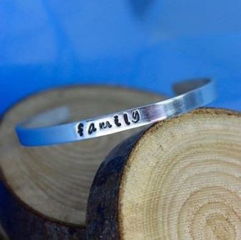 """Family"" Believe Bangle"