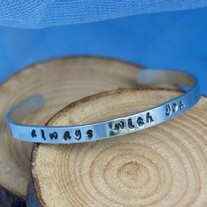 """always with you"" Believe Bangle"