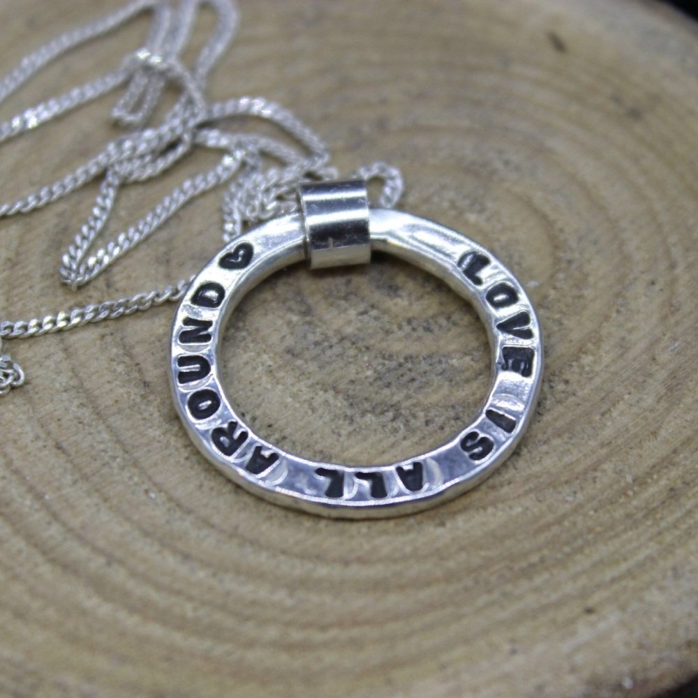Circle Personalised Necklace
