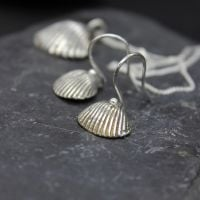 Whitstable Shell Earrings (design 1)