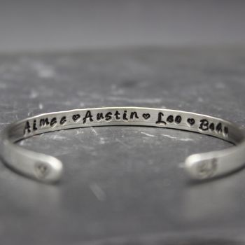 Hidden Message Believe Bangle