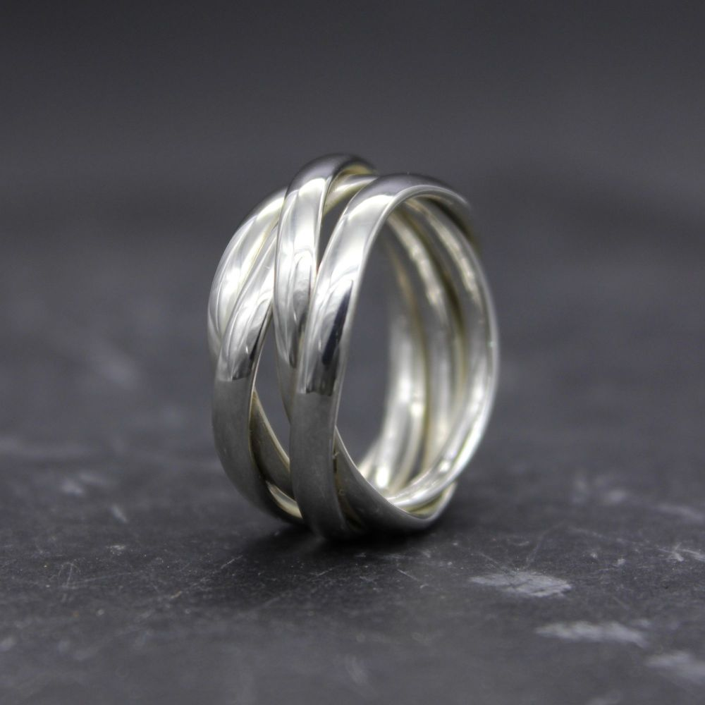 Random Wrap Ring - heaviest
