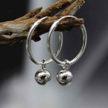Ball & Hoop Earrings