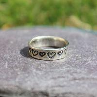 Toe Ring - Hearts