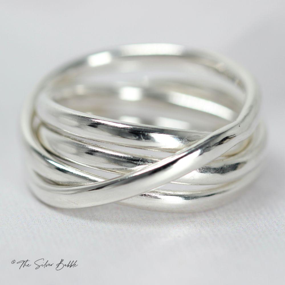 Random Wrap Rings