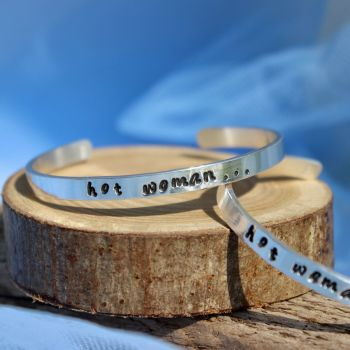 """hot woman"" Believe Bangle"