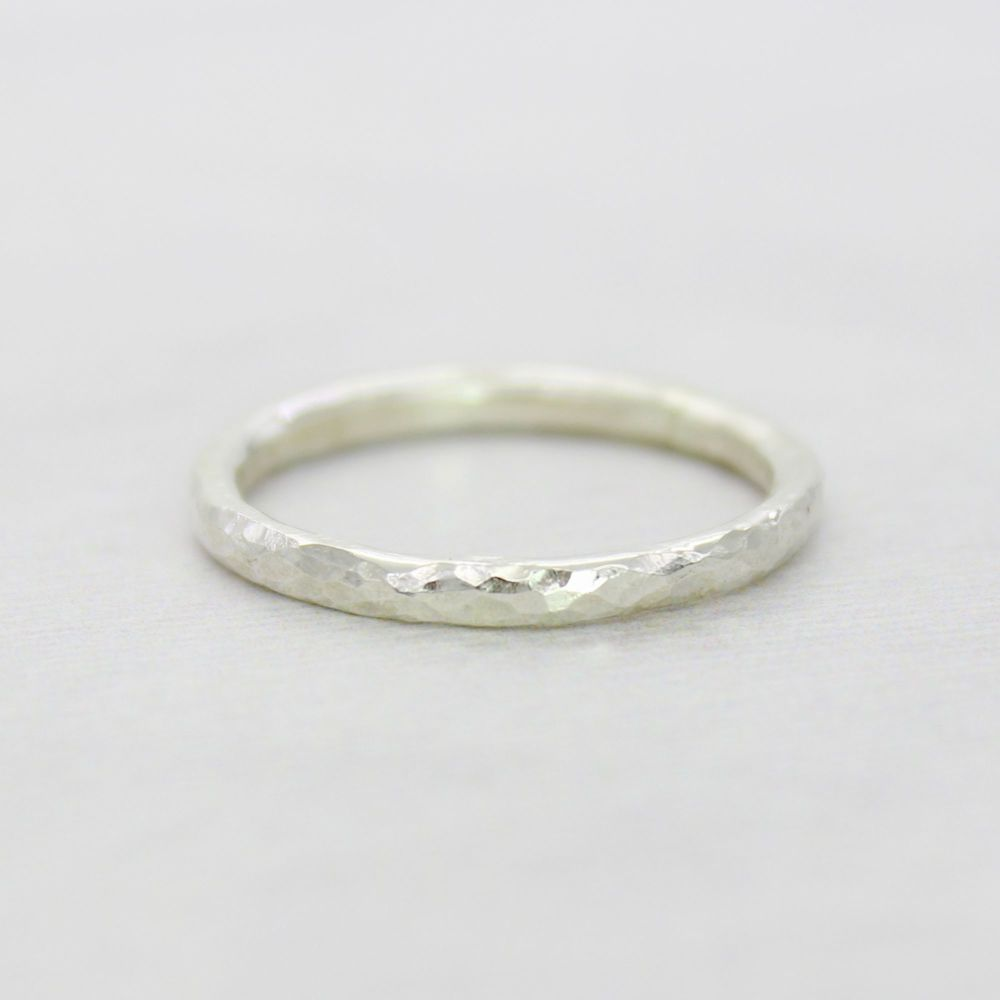 One-to-One Workshop - Make a 2mm Hammered Bangle and Ring Set