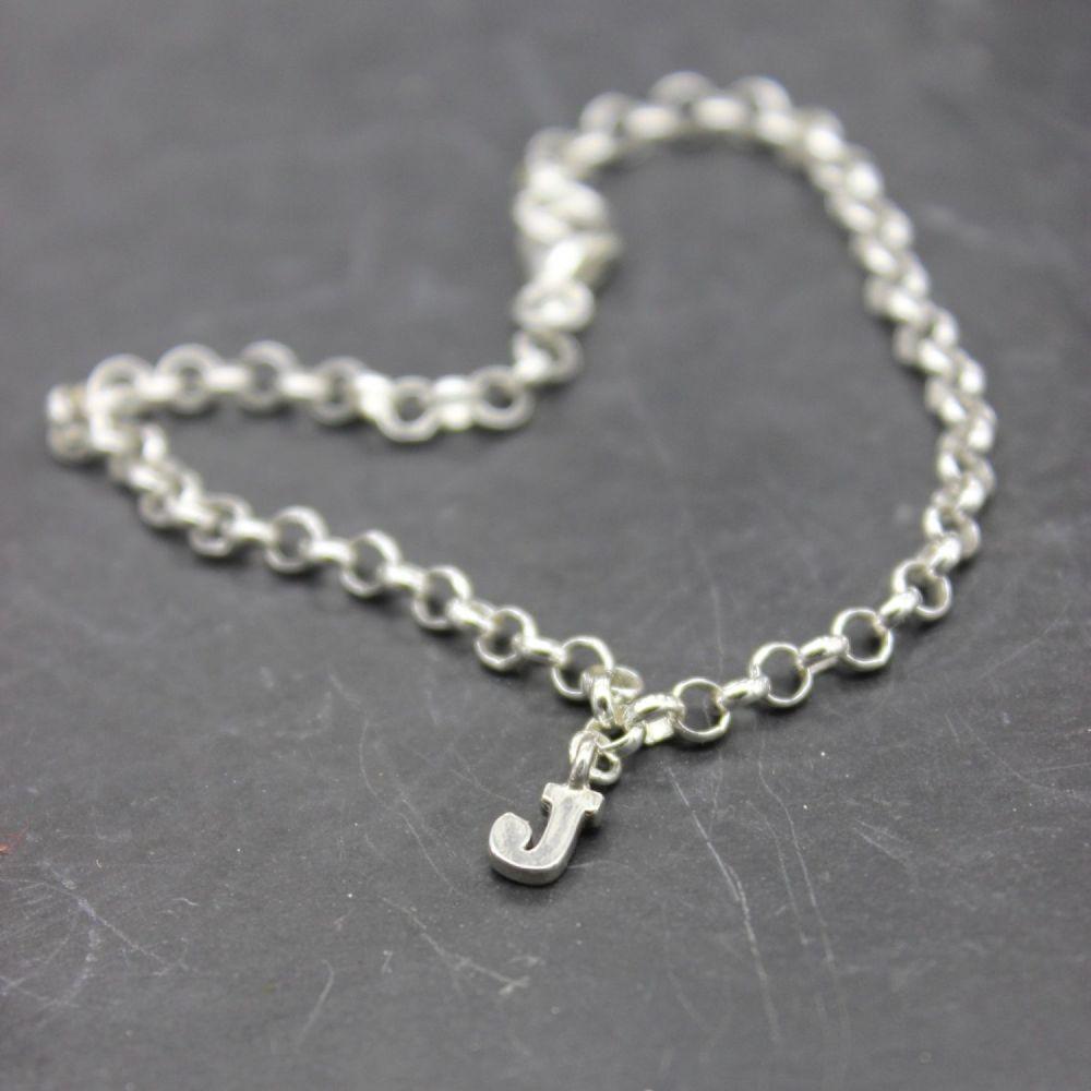 Initial Bracelet/Anklet