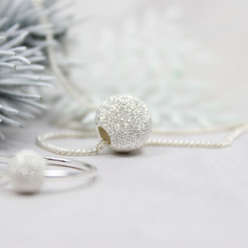 Glitter Ball Necklace