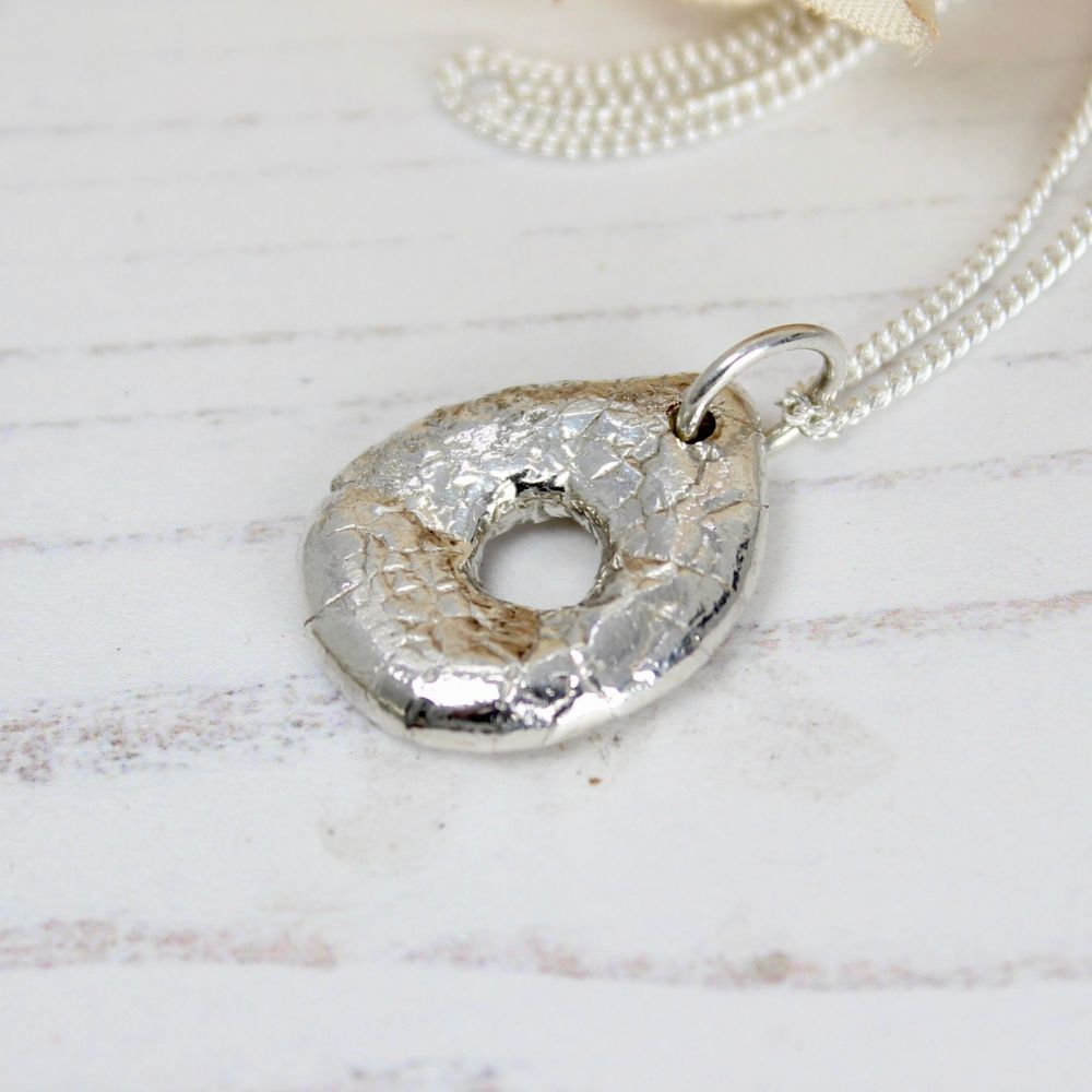 Bubble Nugget (with a difference) Necklace