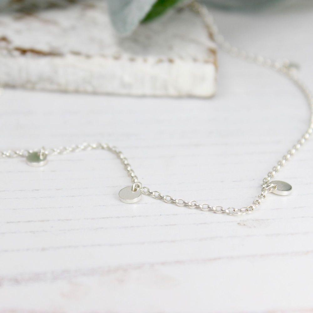 Seven Disc Necklace