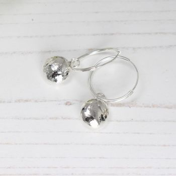 Nugget Earrings (light) on sleepers