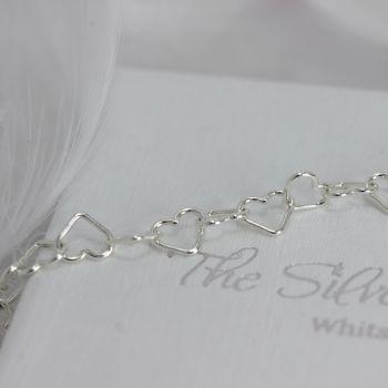 Heart Link Bracelet/Anklet