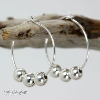 Fidget Hoop Earrings