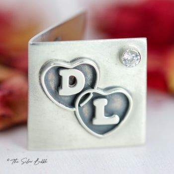 Love Card with Two Initals