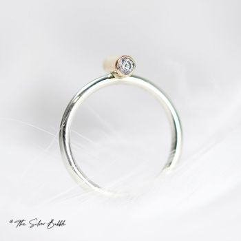 Life in Balance - Silver & Gold Ring