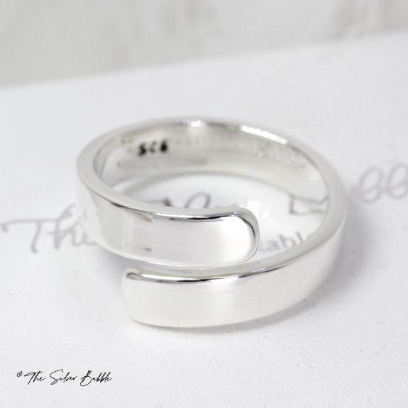 Polished Wrap Ring
