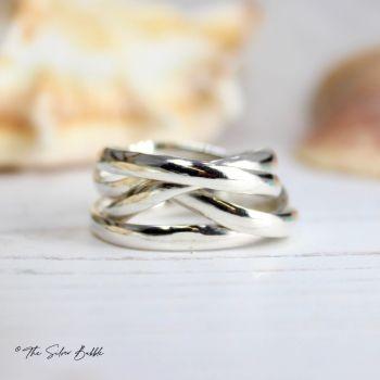 Random Wrap Ring - medium