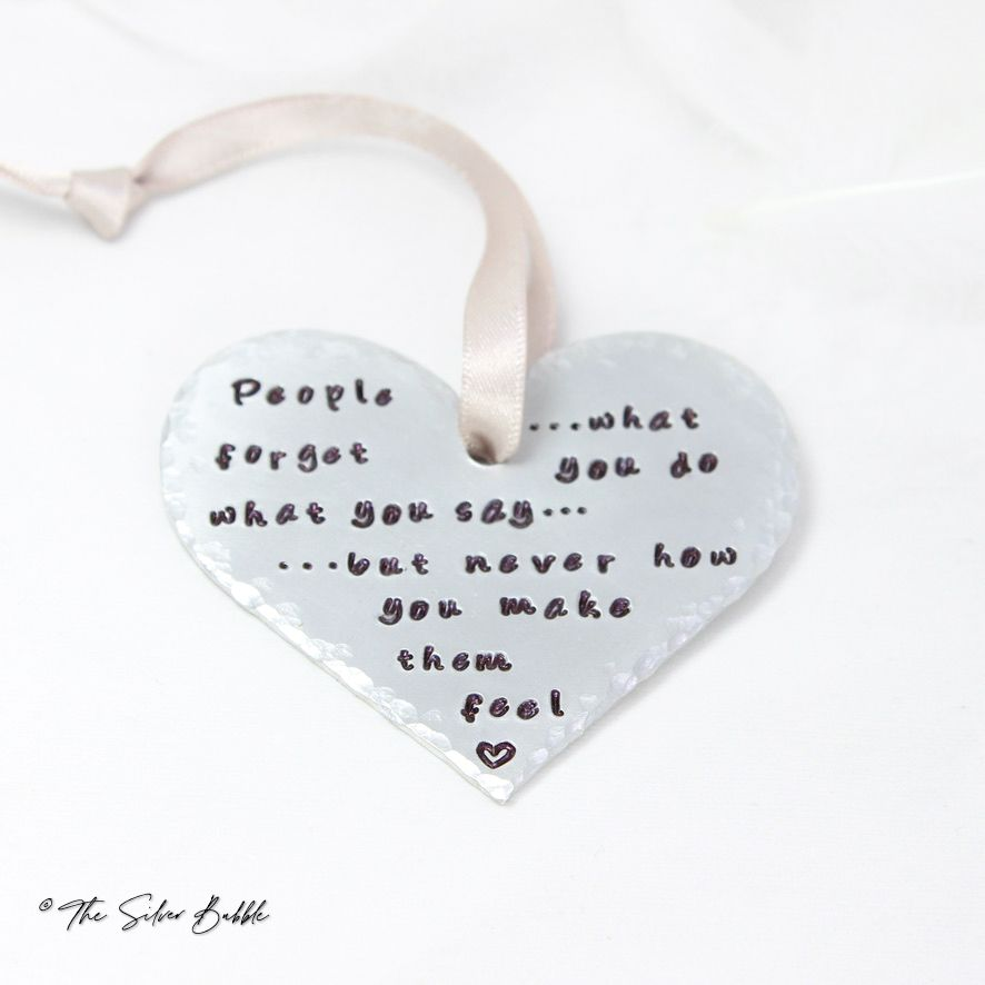 Heart Decoration - personalised